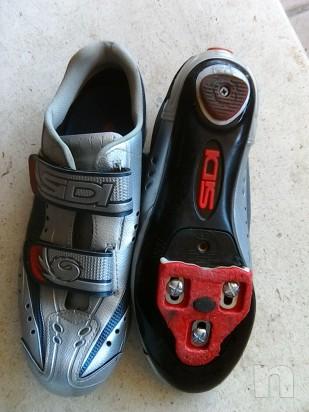Scarpe bici corsa n41 con tacchette look foto-17527