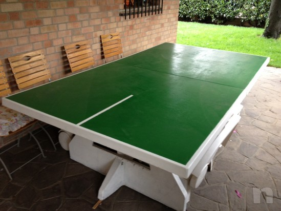 Ping-pong in cemento mai esterno come nuovo. foto-17654