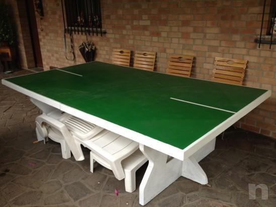 Ping-pong in cemento mai esterno come nuovo. foto-9676