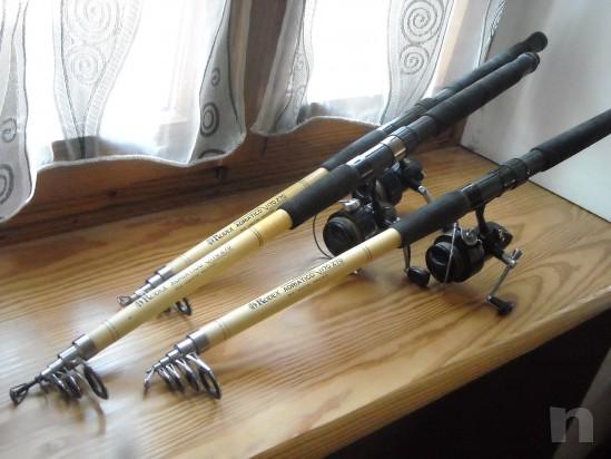 canne da pesca telescopiche con mulinello foto-9691