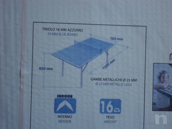 Minitavolo Ping Pong foto-18045