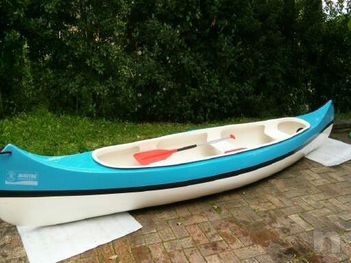Canoa canadese 5 metri come nuova foto-9899