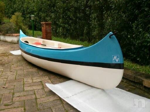 Canoa canadese 5 metri come nuova foto-18063