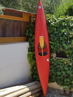 Canoa gran turismo fondo piatto di m.4.10 foto-9900