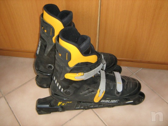 pattini a rotelle in linea roller blades marca BAUER foto-18142