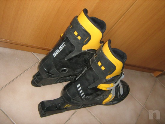 pattini a rotelle in linea roller blades marca BAUER foto-18141
