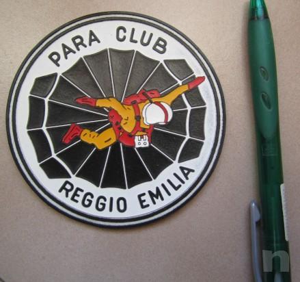 lotto due toppe para club Reggio Emilia, anni '70 foto-9936