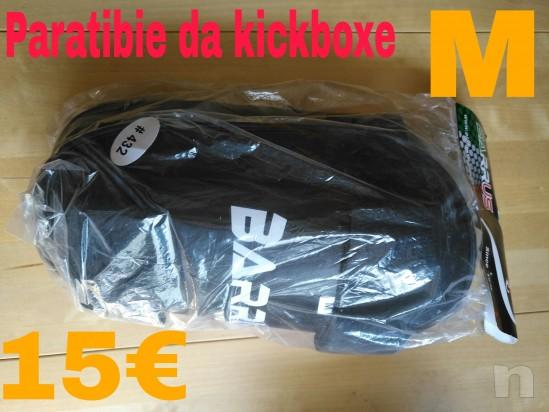 Paratibie kickboxe Barrus taglia M foto-9977