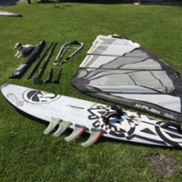 Vendo Set completo Windsurf Wave