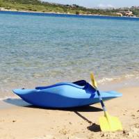 kajak da surf onda e fiume usato