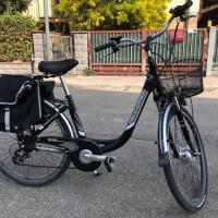 Bicicletta elettrica donna come nuova
