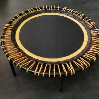 tappeto elastico circolare bouncer 110 cm dm con piedini h. 26 - bellicon