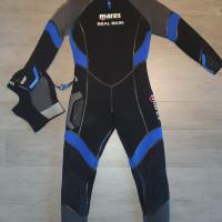 Muta Mares SEAL skin 6mm Uomo con cappuccio praticamente nuova!