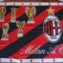 Bandiera MILAN Vintage 1995 - 128X94 Cm.