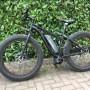 Fat Bike pedala assistita elettrica, motore 350w batteria 500wh