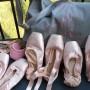 Gruppo scarpe danza classica punta, borsa Porselli
