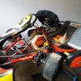 Go kart con 30 litri e pistone nuovo di scorta  telaio maramello motore sgm