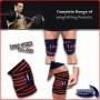 Fascia ginocchia squat body building Sportech bende sollevamento pesi