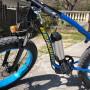 Bicicletta elettrica biwbik. Fat Bike. Snow Bike