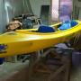 canoa biposto + uno per bambini centrale