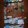 stock attrezzatura pesca a galleggiante