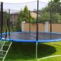 Trampolino tappeto elastico esterno da giardino Jumping Diametro 245cm Nuovo