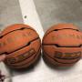 2 palloni minibasket (tg.5) usati due volte.