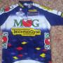maglia ciclismo originale firmata Michele Bartoli