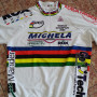 maglia ciclismo campione del mondo originale