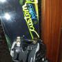 Tavola snowboard Burton Custom 158 attacchi e scarponi Flow