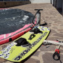 KITESURF COMPLETO NORTH REBEL 12 mt + TAVOLA