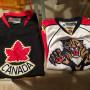 2 Maglie hockey ghiaccio canada / florida panther tg. xx