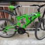 """Bicicletta MTB kawasaky 24"""" cambio shimano"""