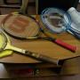 Racchette da tennis e volano