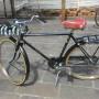"""Bici uomo Raleigh d'epoca con freni a bacchetta-ruote 26""""-"""