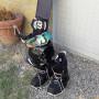 Snowboard   scarponi   occhiali   casco