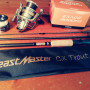 Canna Shimano Beastmaster trout Mulinello Shimano exage 4000
