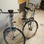 Coppia di biciclette da donna.