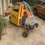 Vendo ape Piaggio con telaio da Go kart manca il motore ma avevo messo un 600cc a marce per il resto è completo di tutto