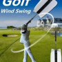 Golf Swing fan trainer: attrezzo di allenamento allo swing con grip anatomica