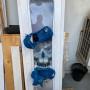 Snowboard Tavola + attacchi Nitro Beast - 155