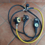 Octopus Mares MR 12 dfc set completo con consolle Oceanic
