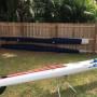 THINK SIX-KEVLAR CARBONIO surfski / kayak da mare