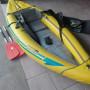 Canoa semi nuova. Funzionalità avanzate kayak gonfiabile Attack Advanced elements