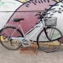 """OLIMPIA vintage 14 velocità- cestino, cambio, portapacchi, ruote 28"""""""