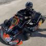 Go-kart crg 125 con motore tm kz10es