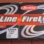 TRECCIATO BRAID BERKLEY FIRELINE CRISTAL DYNEMA 0.04-0.17mm 110mt SUPER STRONG
