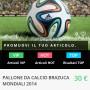 pallone brazuca mondiali 2014 brasile