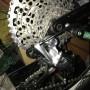 SRAM XX1 composto da 4 pezzi - cambio - manettino - gruppo pignoni - catena  in ottime condizioni le foto sono reali e si può vedere il suo utilizzo