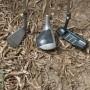 3 mazze da golf sacca e palline